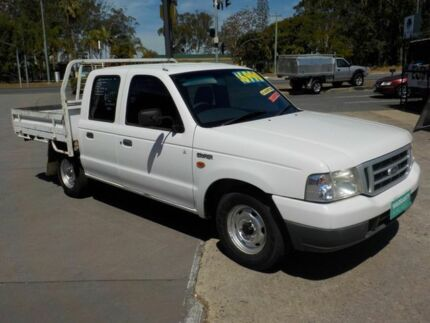 2002 Ford Courier PE GL White 5 Speed Manual Deception Bay Caboolture Area Preview