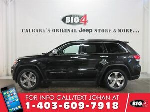 2014 Jeep Grand Cherokee LIMITED, Sunroof, Leather, PWR tailgate