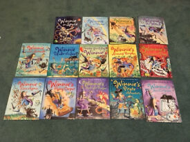Winnie the Witch Collection - 14 Books