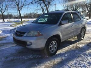 2002 ACURA MDX, 7 PASSAGERS , 4X4 ,  AUTOMATIQUE , SIEGES CUIR