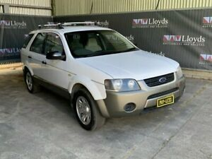 2005 Ford Territory White Automatic   O/Drive 4-Door SUV Carrara Gold Coast City Preview