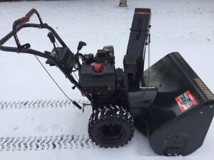 12.5 HP Craftsman snowblower.  Ready to clear your driveway.