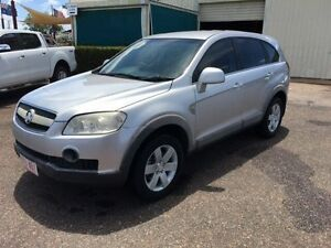 2006 Holden Captiva CG CX (4x4) Silver 5 Speed Automatic Wagon Holtze Litchfield Area Preview