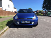 Ford Streetka 1.6 2dr £1,495 p/x welcome 2003 (53 reg), Convertible-Low Mileage