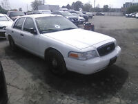 2007 FORD CROWN VIC POLICE INTCPTR PARTS ON SALE!!