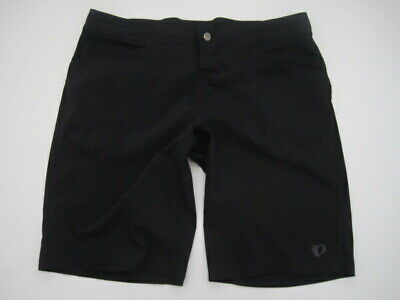Mens XXL Pearl Izumi black unlined cycling MTB mountain biking shorts