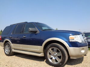 2009 Ford Expedition Eddie Bauer-4X4-LEATHER-SUNROOF-5.4L V8
