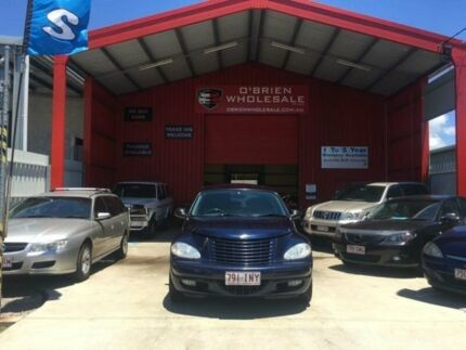 2004 Chrysler PT Cruiser PG Grand Tourer Blue Manual Wagon