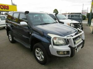 2006 Toyota Landcruiser Prado KZJ120R GXL (4x4) Blue 5 Speed Manual Wagon Reynella Morphett Vale Area Preview