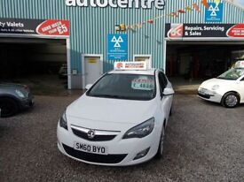 VAUXHALL ASTRA 1.7 SRI CDTI 5d 123 BHP good condition (white) 2010