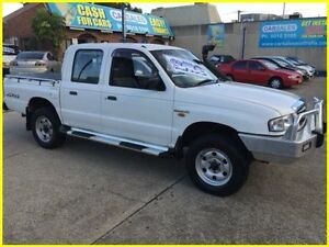 2004 Mazda Bravo B2500 DX Freestyle White 5 Speed Manual Cab Chassis Kogarah Rockdale Area Preview