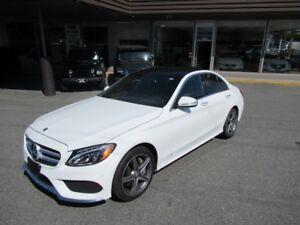 2015 Mercedes-Benz C-Class C300 4MATIC WITH HEADS UP DISPLAY