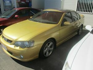2005 Ford Falcon BA MkII XR6 Gold 4 Speed Auto Seq Sportshift Sedan Coopers Plains Brisbane South West Preview