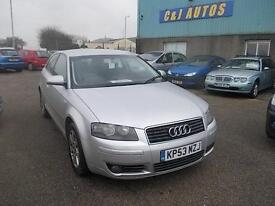 Audi A3 2.0TDI SE WITH HISTORY AND NEW MOT ON PURCHASE