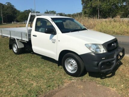 2011 Toyota Hilux (2WD) Work Mate White 5 Speed Manual Trayback