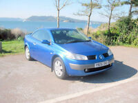 2006 (06) Renault Megane Dynamique Coupe, 1870cc Diesel, 5 Speed Manual