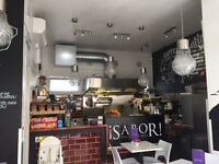 """RUNNING CAFE/RESTAURANT """"A3/A5"""" SHOP TO LET """"LEASE ASSIGNMENT"""", """"TOOTING BEC"""", SW17 8BD"""