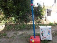 Swingball tennis game