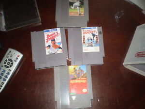 ORIGINAL NINTENDO WITH ORIGINAL GAMES