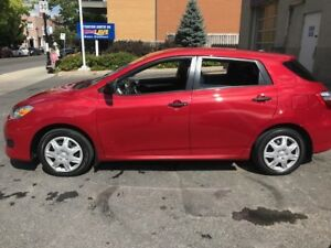 2013 Toyota  Matrix - Base Model - 54,000km - 12,000$