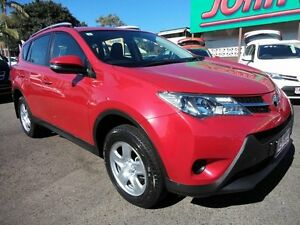 2014 Toyota RAV4 ASA44R MY14 Upgrade GX (4x4) Red 6 Speed Automatic Wagon Mount Gravatt Brisbane South East Preview