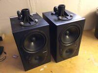 Mackie HR624 MK1 Active monitor speakers, spares or repair