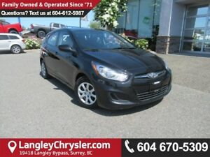 2014 Hyundai Accent GLS <B>*LOCAL BC  *NO ACCIDENTS </B>