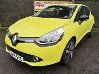 Renault Clio 1.5 Dynamique Nav DCi 90 Turbo Diesel Auto (yellow) 2014