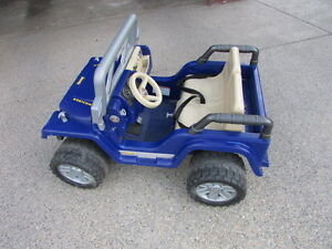 KIDS JEEP- Well Maintained-Rarely Used- Fisher Price Product