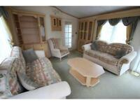 Stunning double glazed and centrally heated pre owned caravan , 2 bedrooms