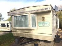 STATIC CARAVAN FOR SALE- DOUBLE GLAZED& GAS CENTRAL HEATED- ONLY £5950!!