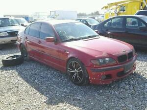 Parting out: 2003 BMW 330ia M-package Imola red