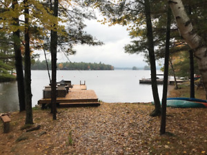 Beautiful building lot on Kasshabog Lake.