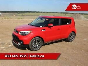 2019 Kia Soul SX TURBO; LEATHER INSERTS, HEATED SEATS/WHEEL, AND