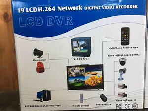 "19"" H.264 Network Digital Video Recorders NEVER USED"