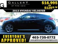2013 Hyundai Veloster TURBO $129 BI-WEEKLY APPLY NOW DRIVE NOW