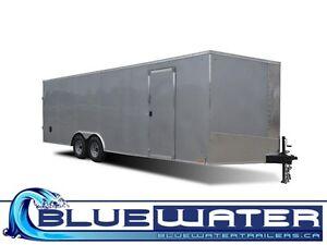 Cargo Express 8.5 Wide XL SE FLAT TOP!! SCREWLESS EXTERIOR!!