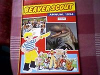 """THE OFFICIAL BEAVER SCOUT ANNUAL 1994"" - RETRO/VINTAGE BOOK"