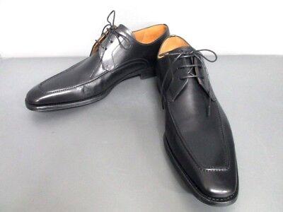 Auth MAGNANNI Black Leather Shoes Men