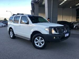 2010 Nissan Pathfinder R51 MY07 ST-L (4x4) White 5 Speed Automatic Wagon Beckenham Gosnells Area Preview