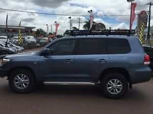 2008 Toyota Landcruiser VDJ200R GXL Blue Mica 6 Speed Sports Automatic Wagon Northbridge Perth City Area Preview