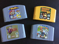 Nintendo 64 N64 Games Jeux Zelda Mario Kart Smash Donkey Kong