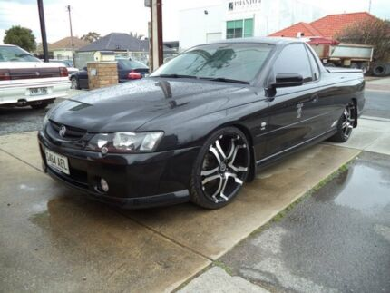 2002 Holden Ute VY SS 8 Ball Black 4 Speed Automatic Utility Somerton Park Holdfast Bay Preview