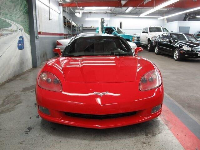 2008 Red Chevrolet Corvette   | C6 Corvette Photo 5