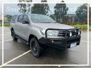 2016 Toyota Hilux GUN126R SR Double Cab Silver 6 Speed Sports Automatic Utility Pakenham Cardinia Area Preview