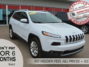 2014 Jeep Cherokee LIMITED, EXCELLENT CONDITION, LOW KMS