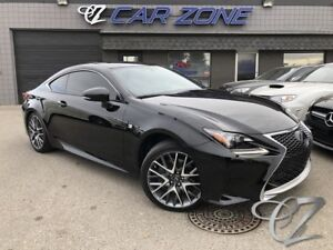 2015 Lexus RC 350 AWD F SPORT SERIES II COUPE, LOADED