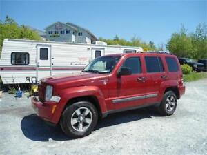 GREAT DEAL! 2008 JEEP LIBERTY 4X4 !!, NEW BRAKES ! NEW MVI !