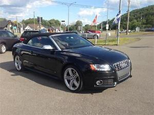 2011 AUDI S5 , CONVERTIBLE , AUTO , S-TRONIC ,CUIR , GPS,FULL