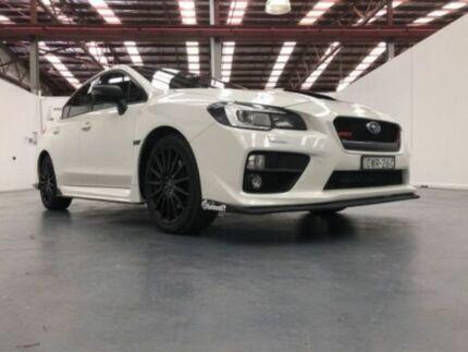 2015 Subaru WRX MY15 Premium (AWD) White 6 Speed Manual Sedan
